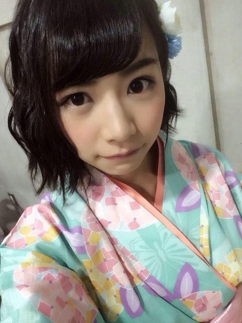 北野日奈子 浴衣